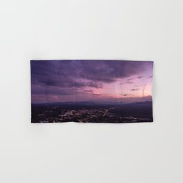 Asheville Stormy Nights Passing By Hand & Bath Towel