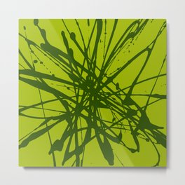 Bloom Green Metal Print