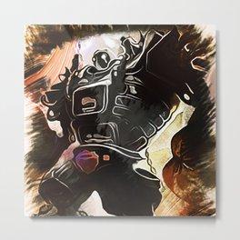 League of Legends BLITZCRANK Metal Print