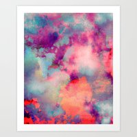 cloud Art Prints featuring Untitled 20110625p (Cloudscape) by tchmo