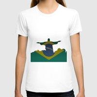 brazil T-shirts featuring Brazil by Jimbob1979