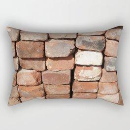 Reclaimed Brick Rectangular Pillow