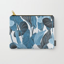 Lush Lily - chambray Carry-All Pouch