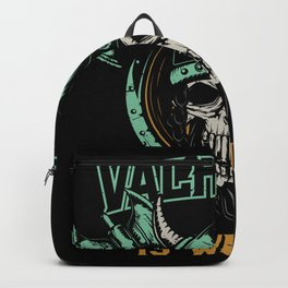 Valhalla is waiting Backpack