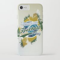football iPhone & iPod Cases featuring Football  by ArtAngelo