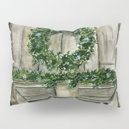 Winter Barn Pillow Sham