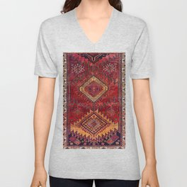 N200 - Berber Moroccan Heritage Oriental Traditional Moroccan Style Unisex V-Neck