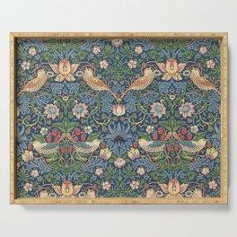 Strawberry Thief - Vintage William Morris Bird Pattern Serving Tray