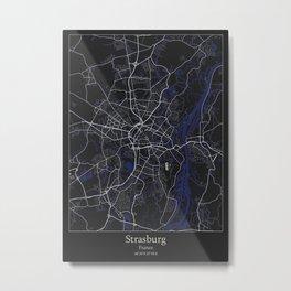 Strasburg France Metal Print