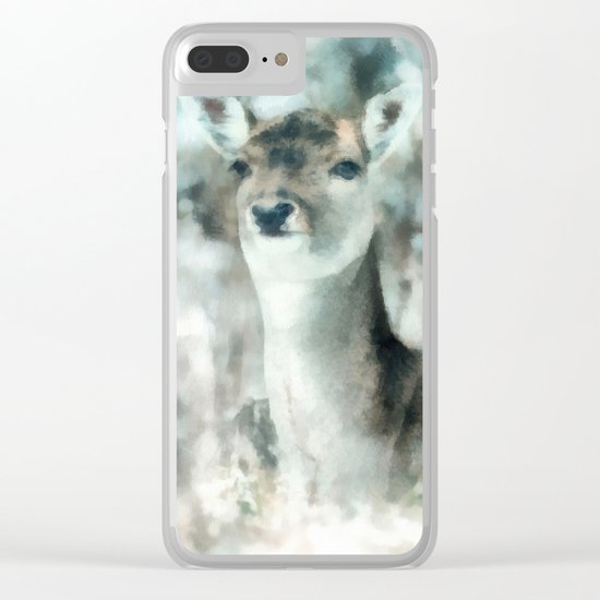 Roe deer Clear iPhone Case