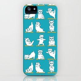West Highland Terrier Yoga iPhone Case