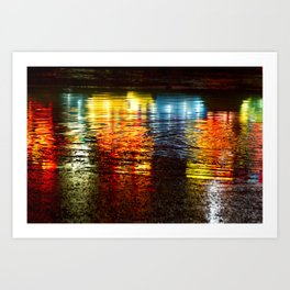 Reflections of the Fair Art Print