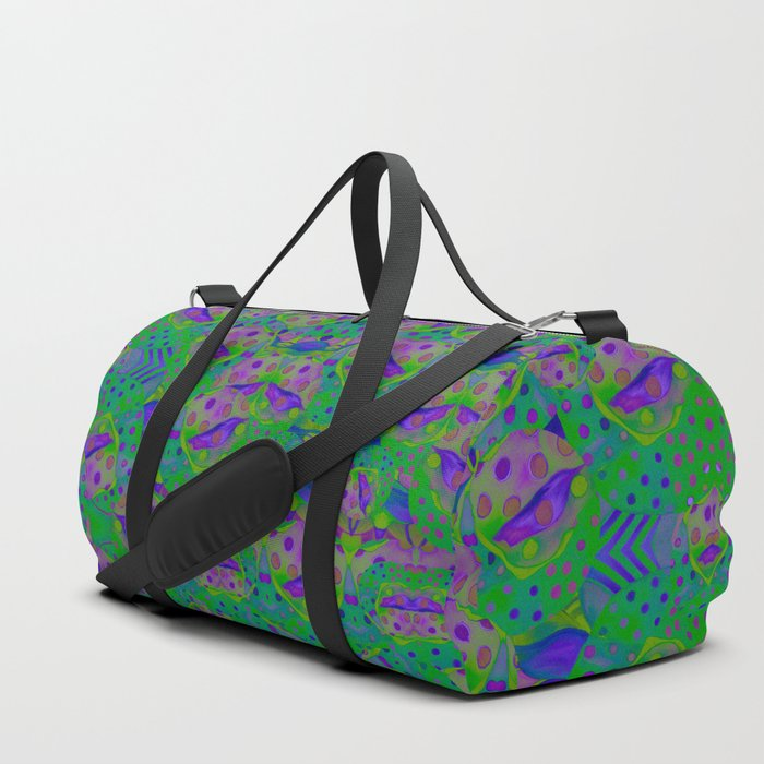 """""""Be yourself (Pop Fantasy Colorful Pattern)"""" Duffle Bag"""