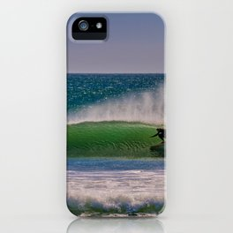 Green Room at the River Jetties iPhone Case