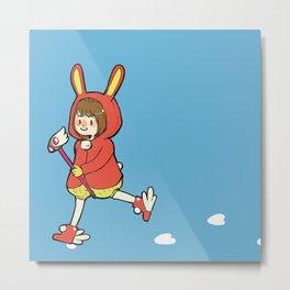 Bunny Cardcaptor Sakura Metal Print