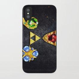 The Timeless Legend of Zelda Inspired Spiritual Stones iPhone Case