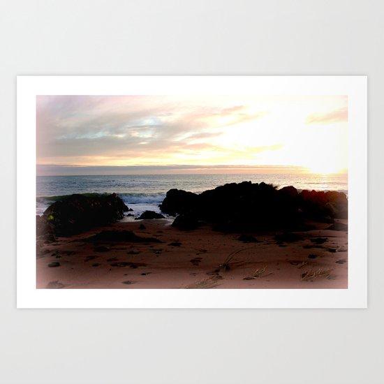 Northern shores of Tasmania Art Print