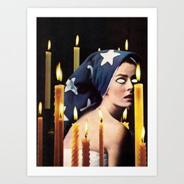 PRIESTESS Art Print