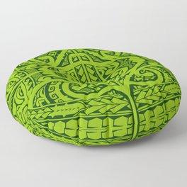 Tatau inspired Floor Pillow