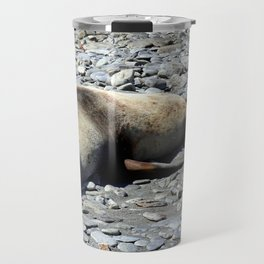 Mother Fur Seal and Pup Travel Mug