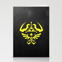 hyrule Stationery Cards featuring Hyrule Shield  by WaXaVeJu