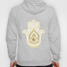 Hamsa Hand - Gold Hoody