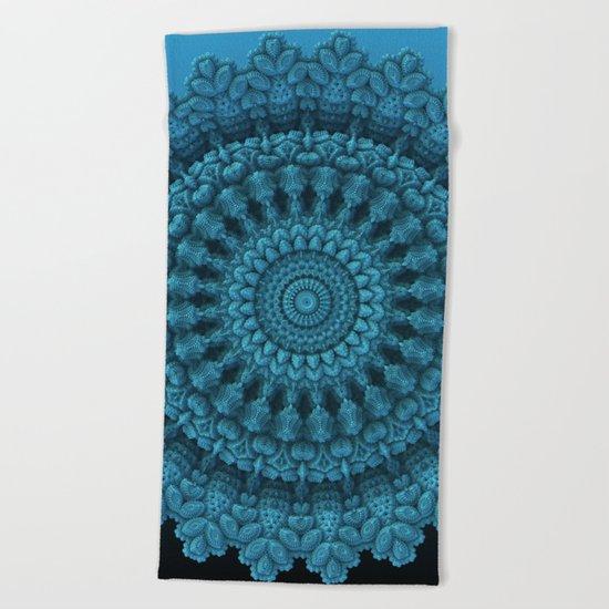Mandala for the Masses Beach Towel