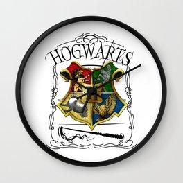 Hogwarts Alumni school Harry Poter Wall Clock