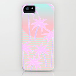 Hello Miami Sunrise iPhone Case