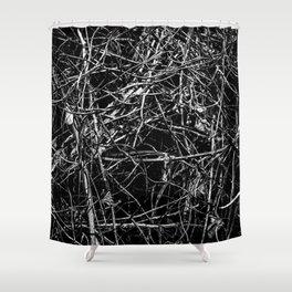 Bramble's Bite Shower Curtain