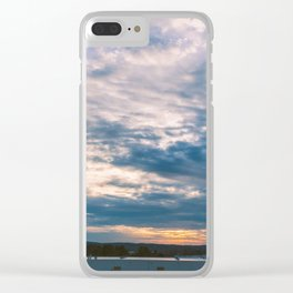 Tennessee-Georgia Border Clear iPhone Case