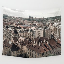 Prague Rooftop 02 Wall Tapestry
