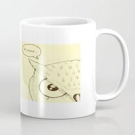 Dyslexic Owl Coffee Mug
