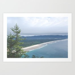 Cape Lookout Oregon Art Print