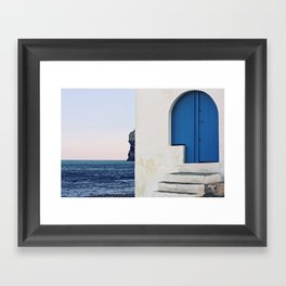 Esquinas Framed Art Print