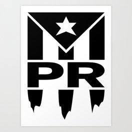 Puerto Rico Art Print