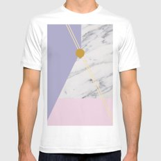 Minimal Complexity v.4 Mens Fitted Tee MEDIUM White