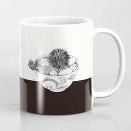 Chestnut Burr & Pottery Coffee Mug
