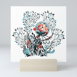 bird house Mini Art Print