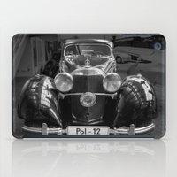 car iPad Cases featuring Car vintage by Veronika