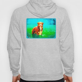 Dog in Water Hoody