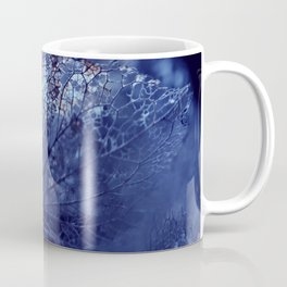 Disintegration in Blue Coffee Mug