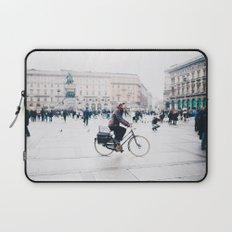 Biking in Milan Laptop Sleeve