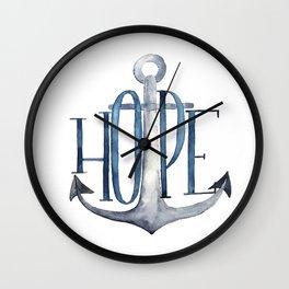 Hope (ANCHOR) Wall Clock