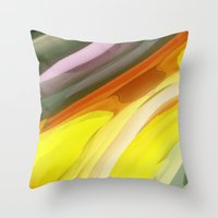 halloween Throw Pillows featuring Halloween by Paul Kimble