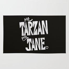 ME TARZAN YOU JANE. Rug