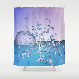 window curtain - candytree Shower Curtain