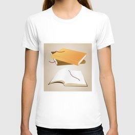Books with background T-shirt