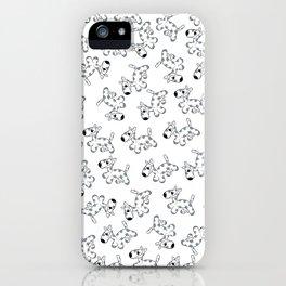 milk cow dog iPhone Case