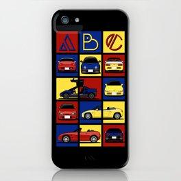 Kei Cars ABC iPhone Case